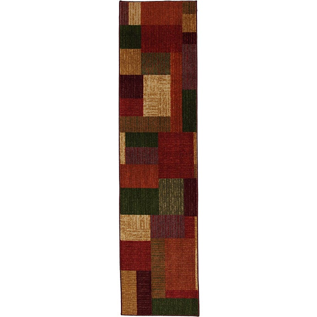 New Wave Earth Hue Multi Rug (2' x 8')