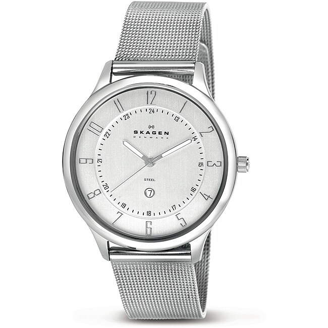 Skagen Men's Ultra-slim Stainless Steel Mesh Watch