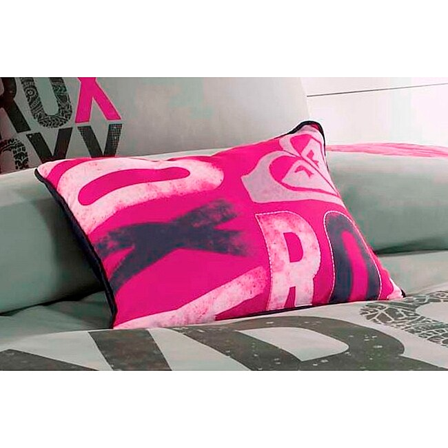 Roxy Express Decorative Pillow
