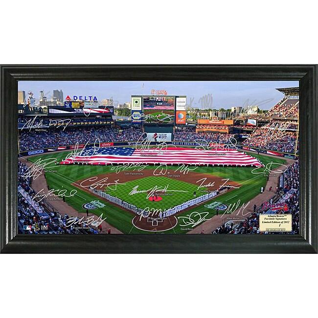 Atlanta Braves Signature Field Frame