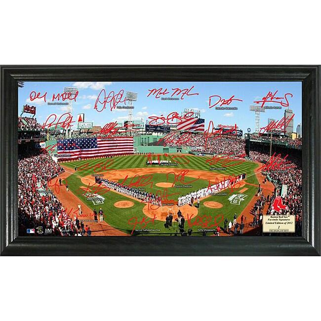 Boston Red Sox Signature Field Frame