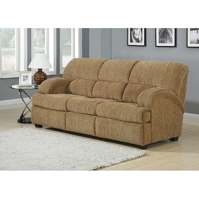Escort Pecan Brown Sofa Bed
