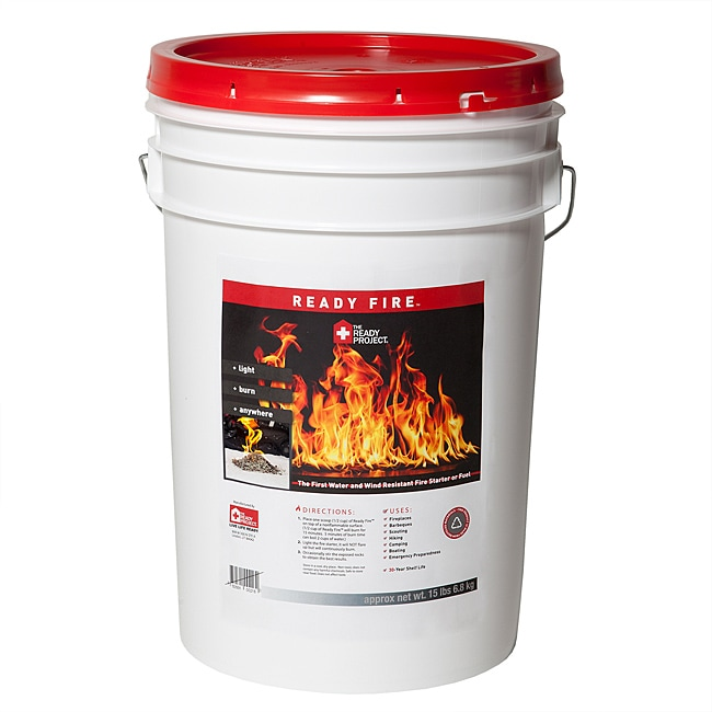 Ready Fire Nontoxic Fuel and Fire Starter Made from Recycled Materials