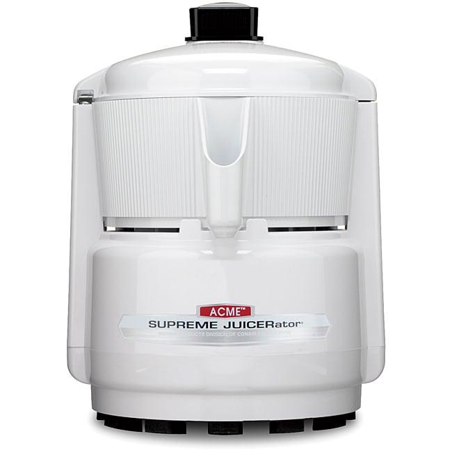 Waring Pro Acme 5001 Quite White Juicerator 550-watt Juice Extractor