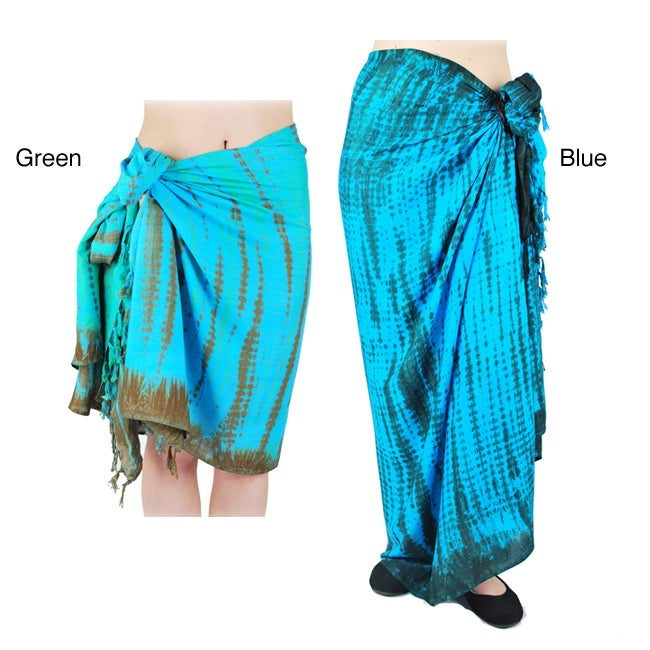 Women's Washed-Look Sarong (Indonesia)