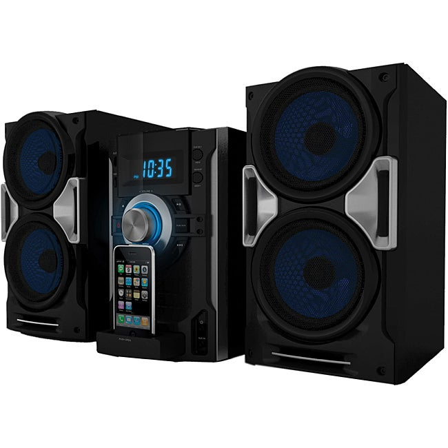 Sylvania SIP1527 CD Stereo System with iPhone/ iPod Dock