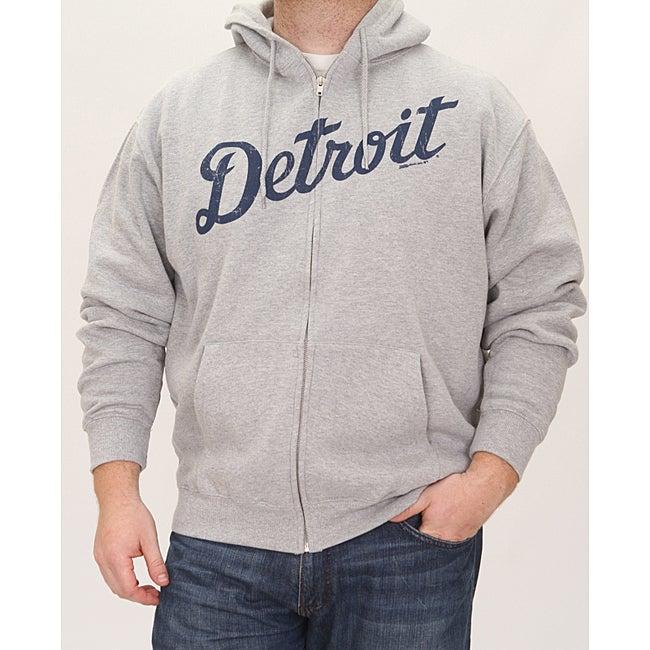 Stitches Men's Detroit Tigers Full Zip Hoodie