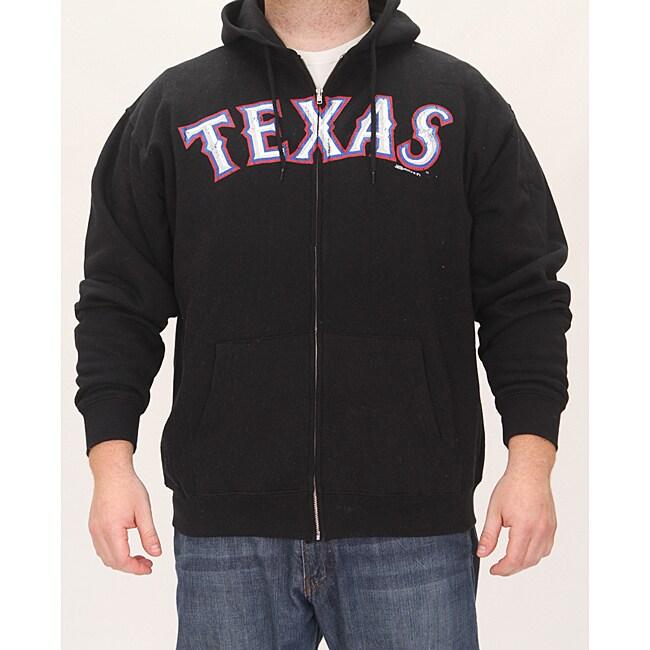 Stitches Men's Texas Rangers Full Zip Hoodie