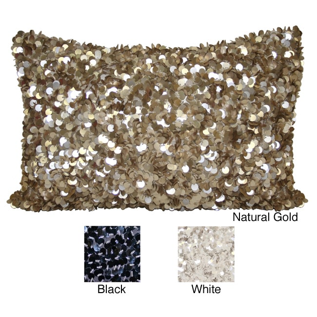 Reversible 12 x 16-inch Glitz Pillow