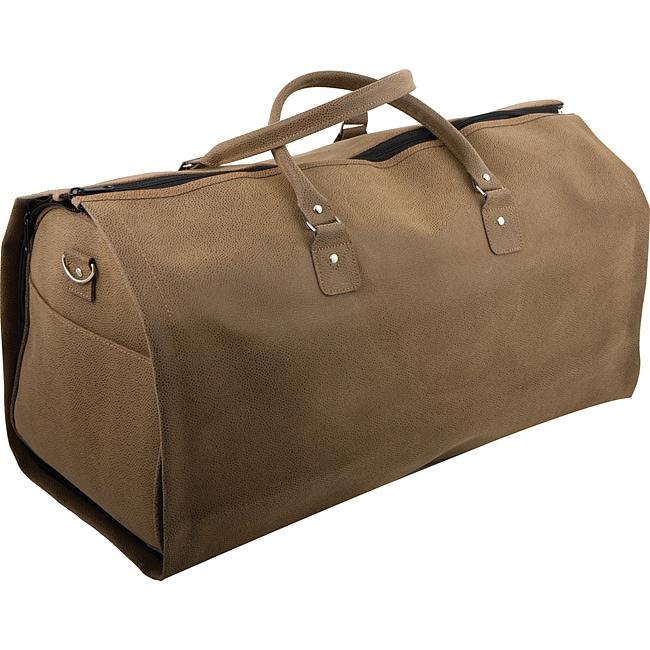 Roberto Amee Embossed Duffel & Garment Bag