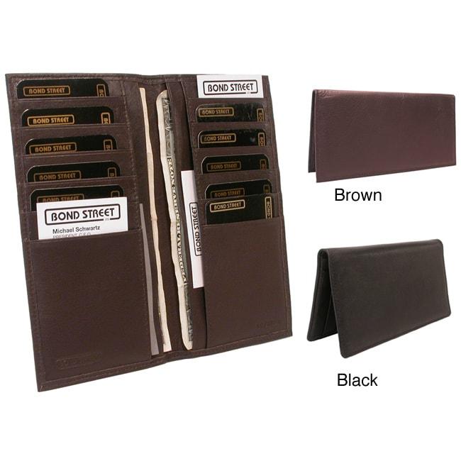 Men's 'La Crema' Leather Bi-fold Wallet