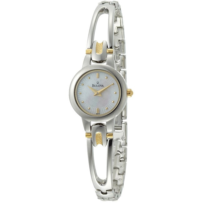 Bulova Women's Mother of Pearl Bracelet Watch
