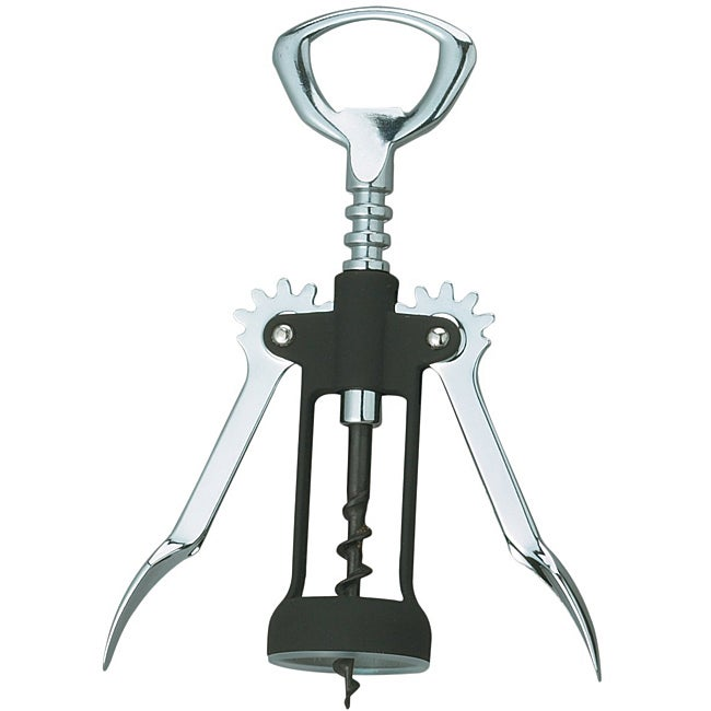 Rubber Touch Wing Corkscrew
