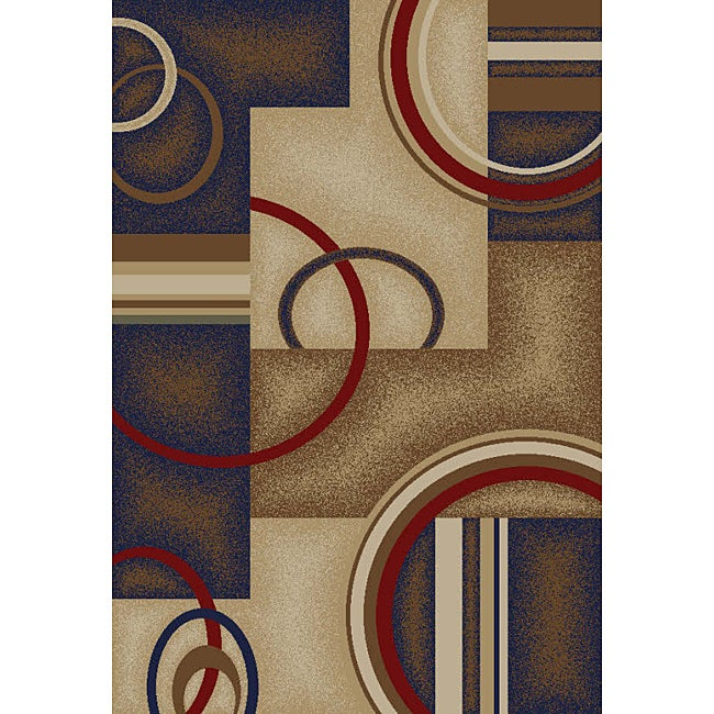 Generations Navy Area Rug (7' 10 x 9' 10)
