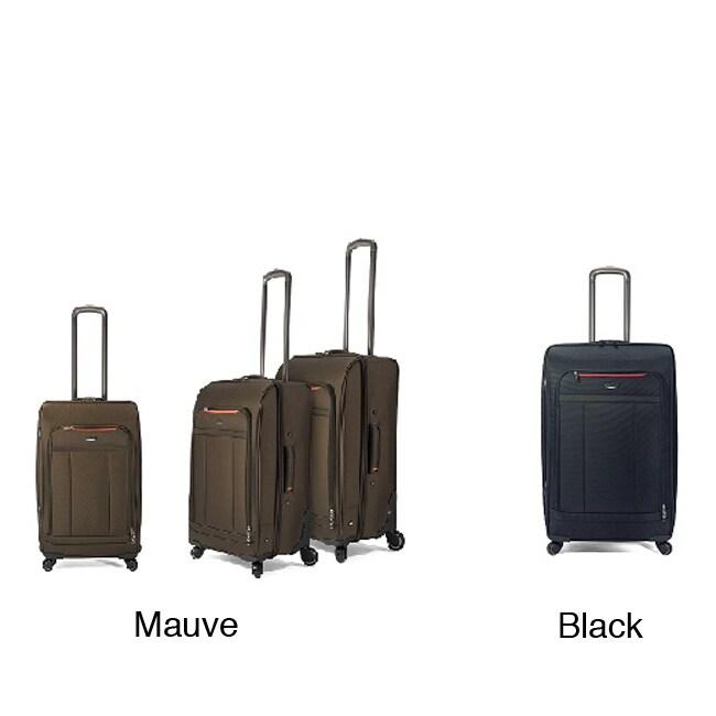 Bossana Three-Piece Four-Wheel Multidirectional Nylon Luggage Set