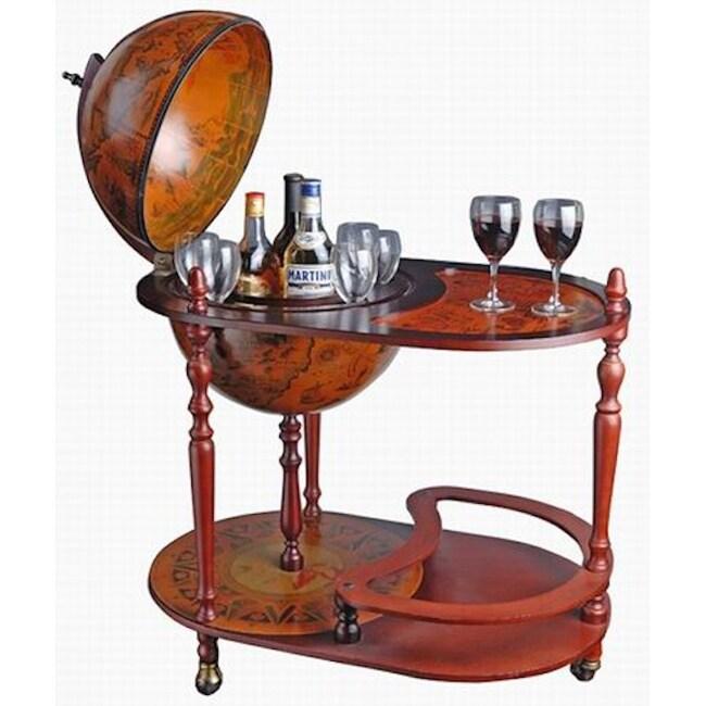 Globe Bar Trolley Wine Bar