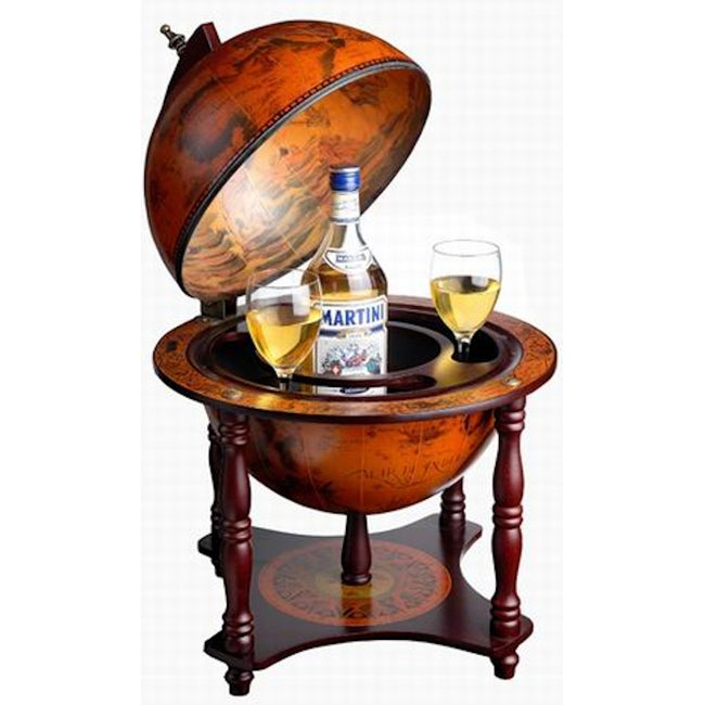 Tabletop Globe Bar with 4 Legs