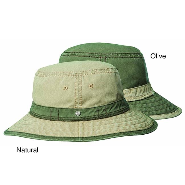 Stetson Men's Morro Canvas Bucket Hat