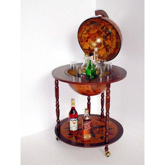 Gallery Old World Globe Bar Wine Bar