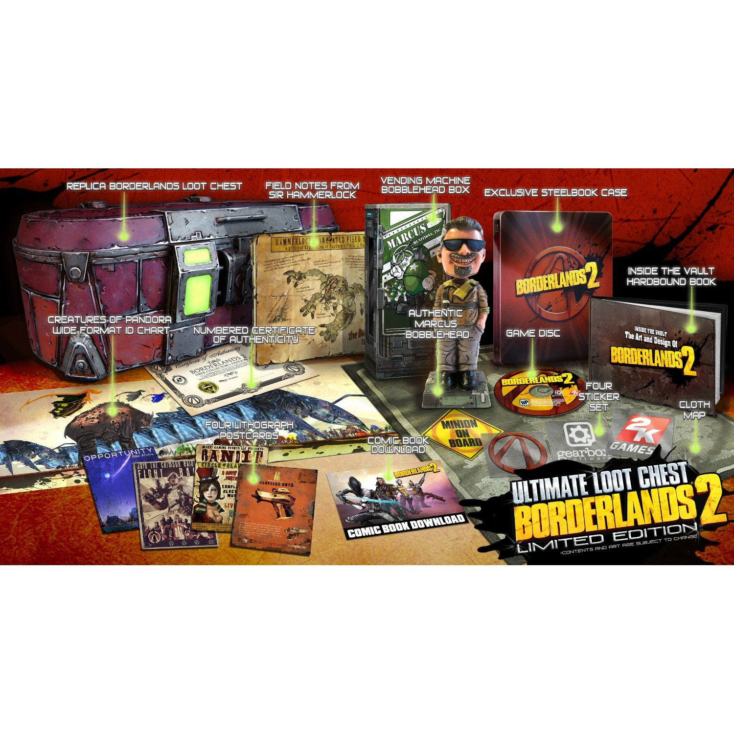 PC - Borderlands 2 Deluxe Vault Hunters Limited Edition