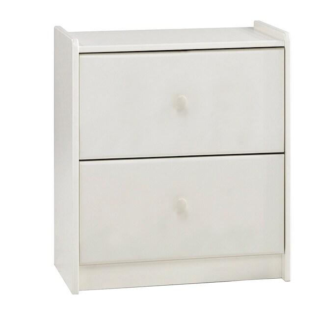 Popsicle White 2-drawer Dresser