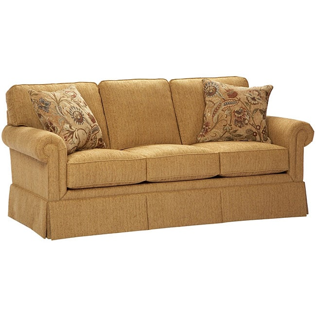 Broyhil Aubrey Wheat Sofa