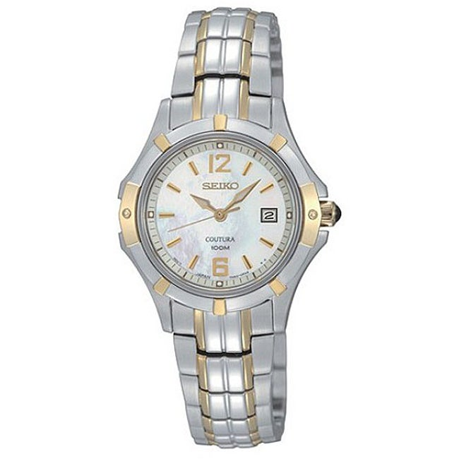 Seiko Women's Coutura Two-tone Stainless Steel Watch