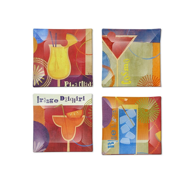 Notions by Jay Canape Plates (Set of 4)