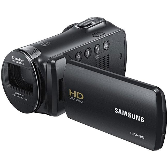 Samsung HMX-F80 Black HD Camcorder