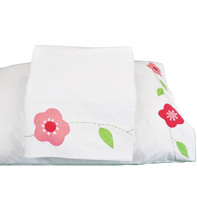 Cottage Home 'Alison' Flower Sheet Set