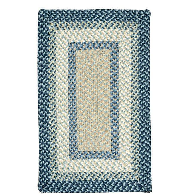Color Market Blue Accent Rug (8' x 11')