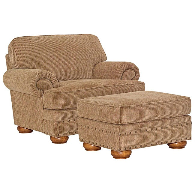 Broyhill Evan Chair And Ottoman Set 14292853 Overstock