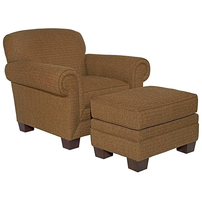 Broyhill Eve Chair And Ottoman Set Overstock Shopping