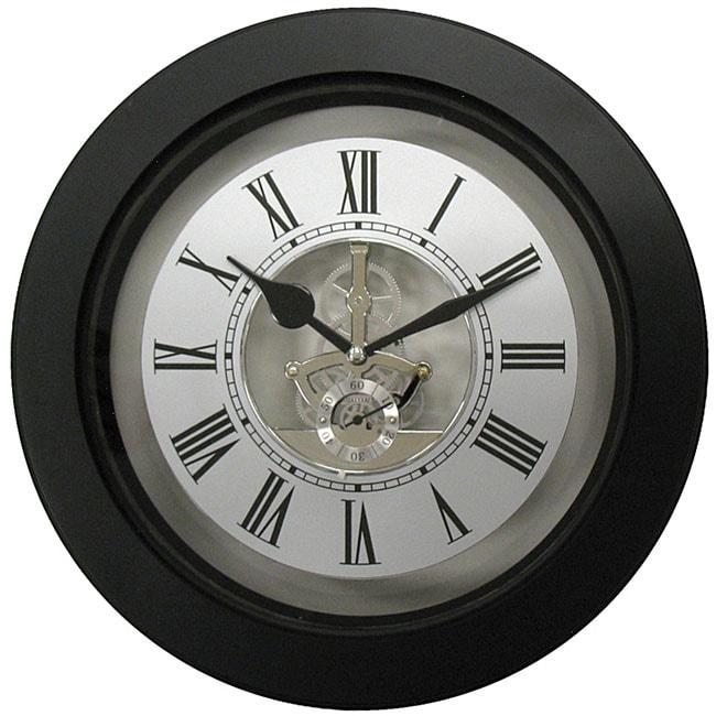 Geneva Plastic Skeleton 10-inch Wall Clock