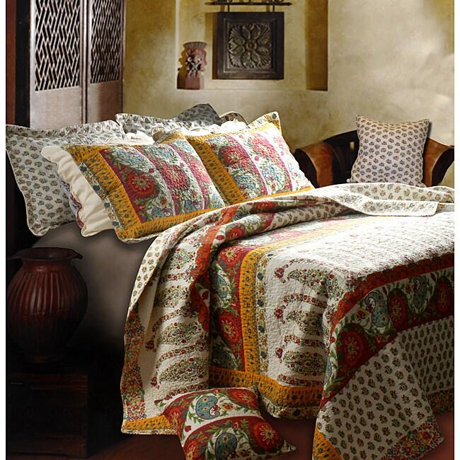 Greenland Home Fashions Marrakesh 5-piece Quilt Set