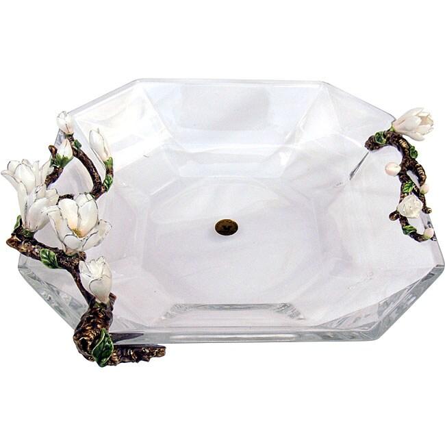 Cristiani Limited Edition Gardenia Crystal Bowl
