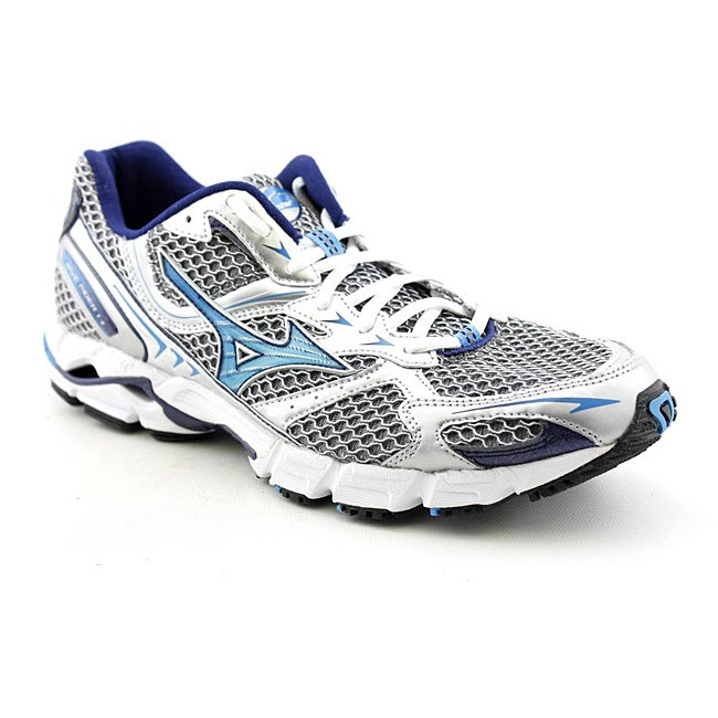 Mizuno Women's Wave Rider 13 Silver Athletic