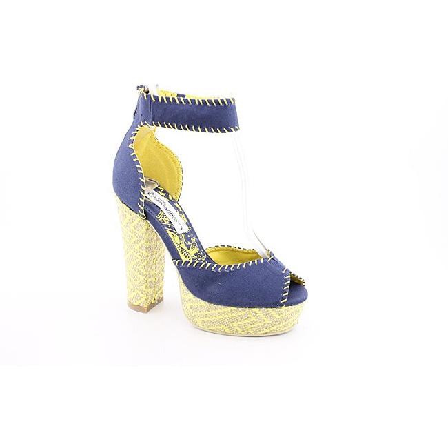 Ed Hardy Women's Cindy Blue, Navy Blue Dress Shoes