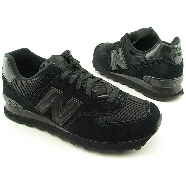 New Balance Men's M574 Black Casual Shoes