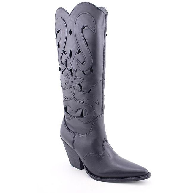 Carlos Santana Women's Silverado Black Boots