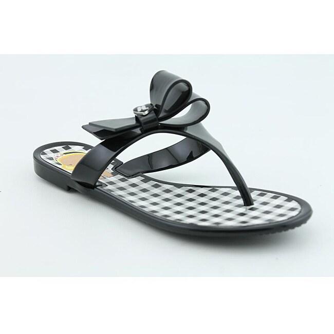 Harajuku Lovers Women's Queen Black Sandals