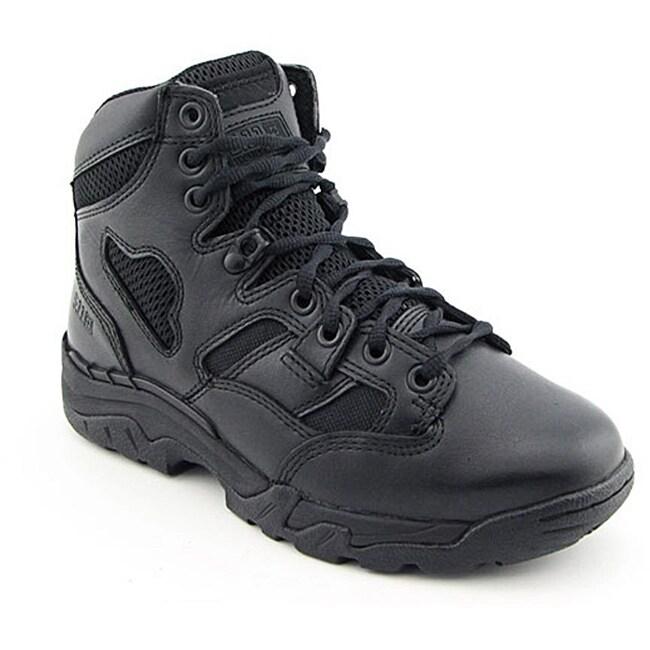 """5.11 Tactical Men's 12021 Taclite 6"""" Side Zip Black Boots Wide"""