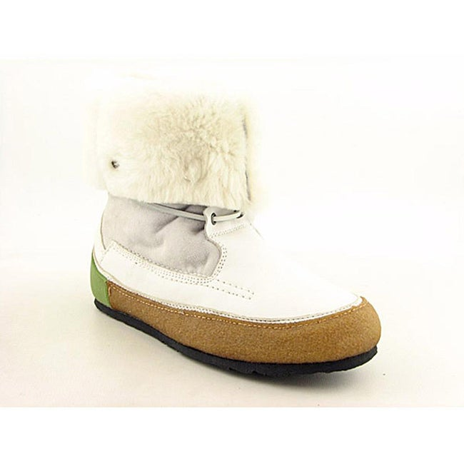 Groundhog Women's Seymour White Boots