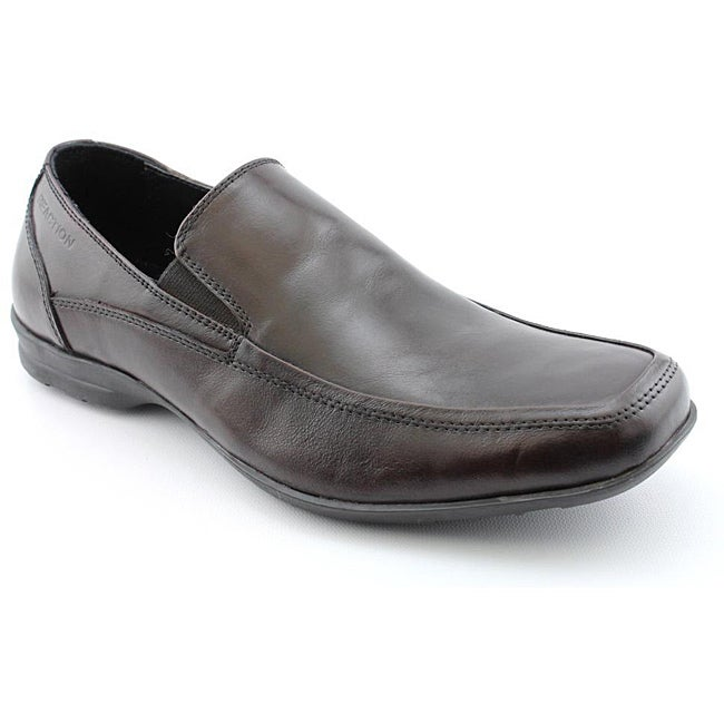 Kenneth Cole Reaction Men's Bite N Chew Brown Dress Shoes