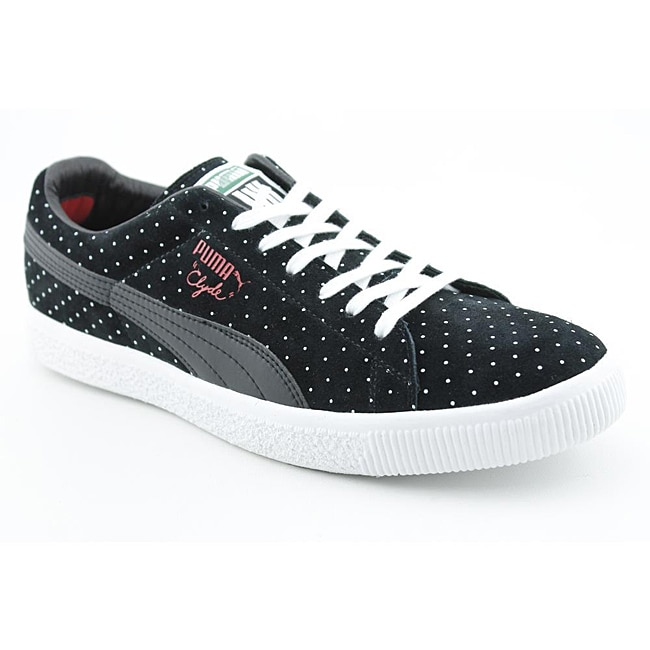 Puma Men's Clyde X Undftd Micro-Dot Black Casual Shoes