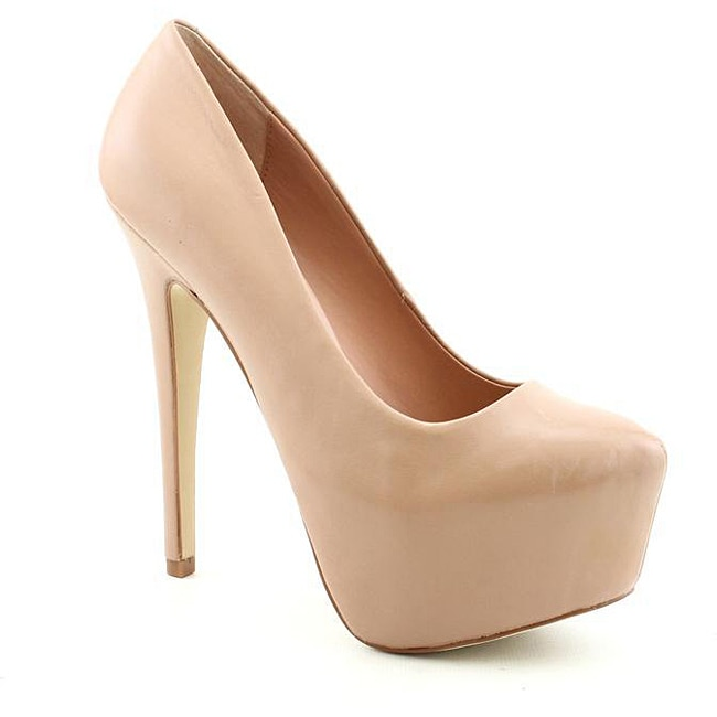 Steve Madden Women's Dejavu Beige Dress Shoes