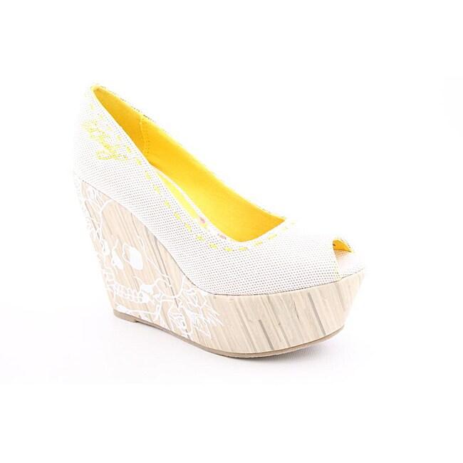 Ed Hardy Women's Ciro White Dress Shoes