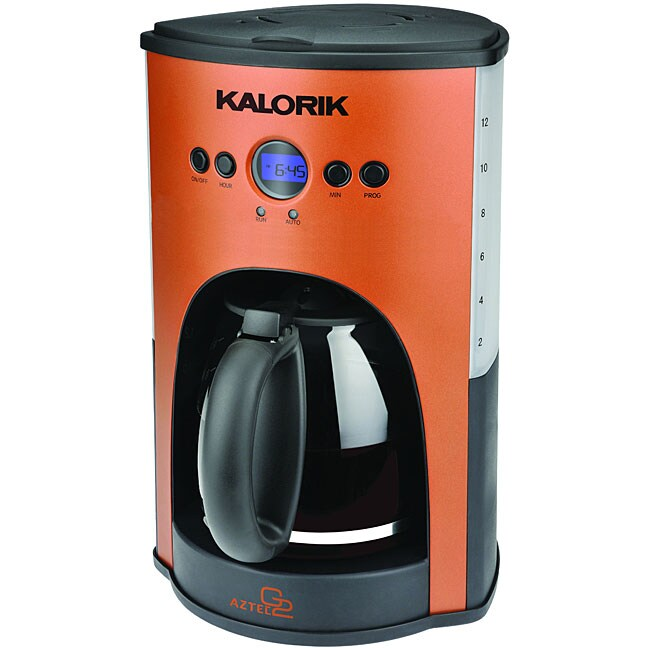 Kalorik Aztec Programmable 12 Cup Coffee Maker (Refurbished)