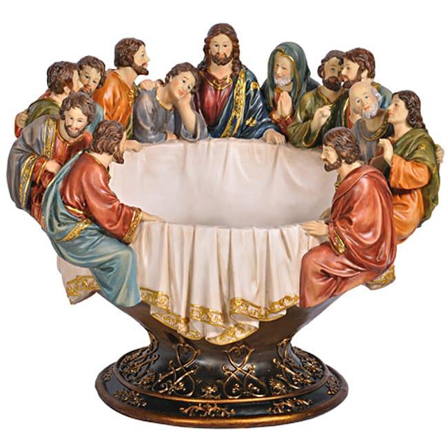 Last Supper 3-D Fruit Bowl