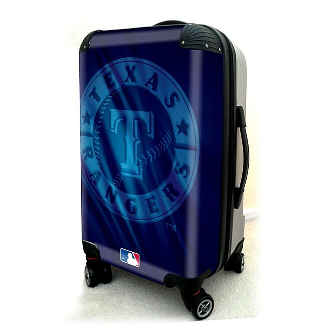 Texas Rangers 20-inch Expandable Hardside Spinner Carry-on Upright
